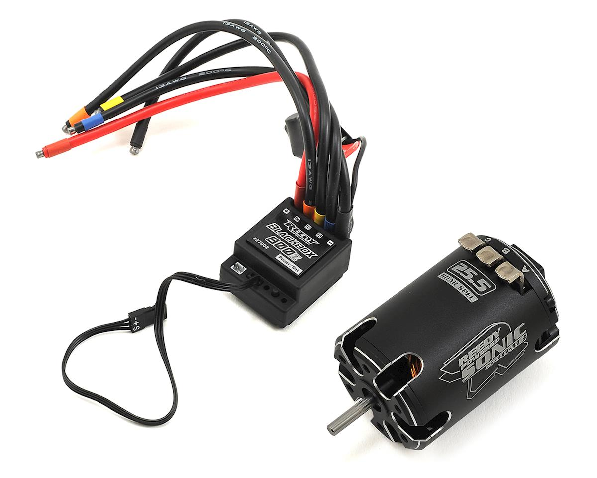 Reedy Blackbox 800Z ESC/Sonic 540-M3 ROAR Spec Brushless Motor System (25.5T)