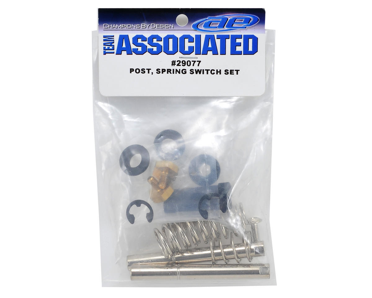 Team Associated Post, Spring & Switch Set