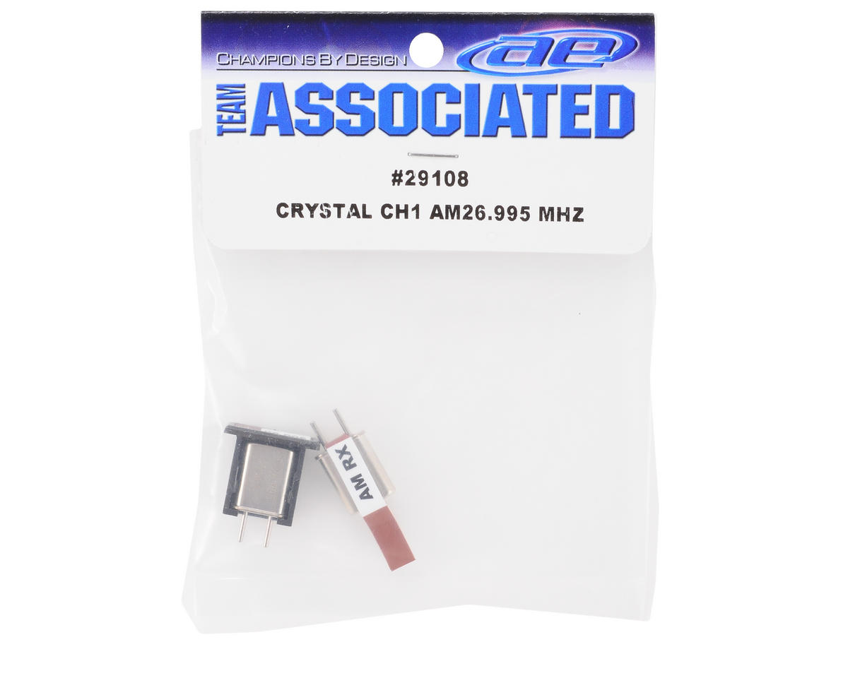 Team Associated Crystal Set (CH1 Brown) (XP3)