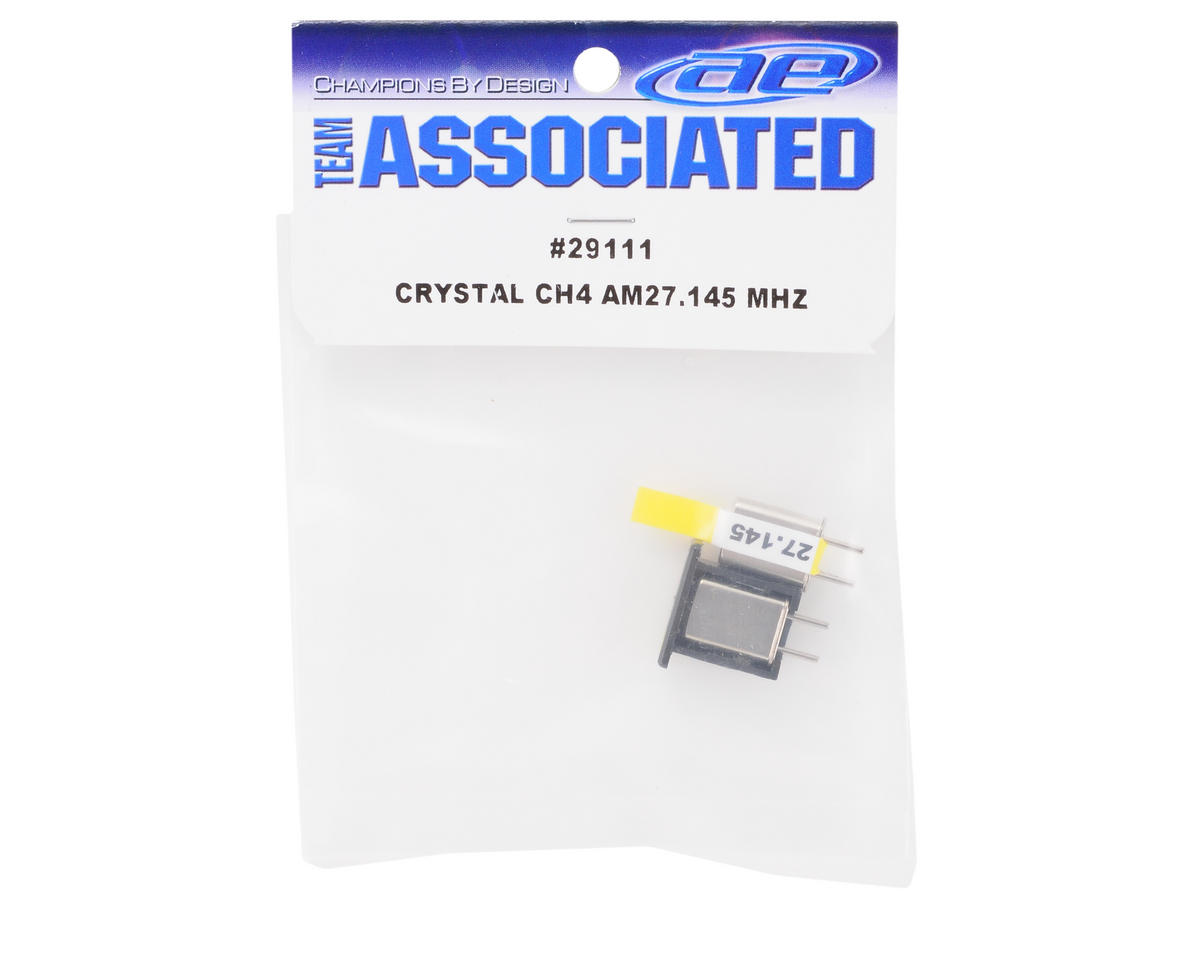 Team Associated Crystal Set (CH4 Yellow) (XP3)