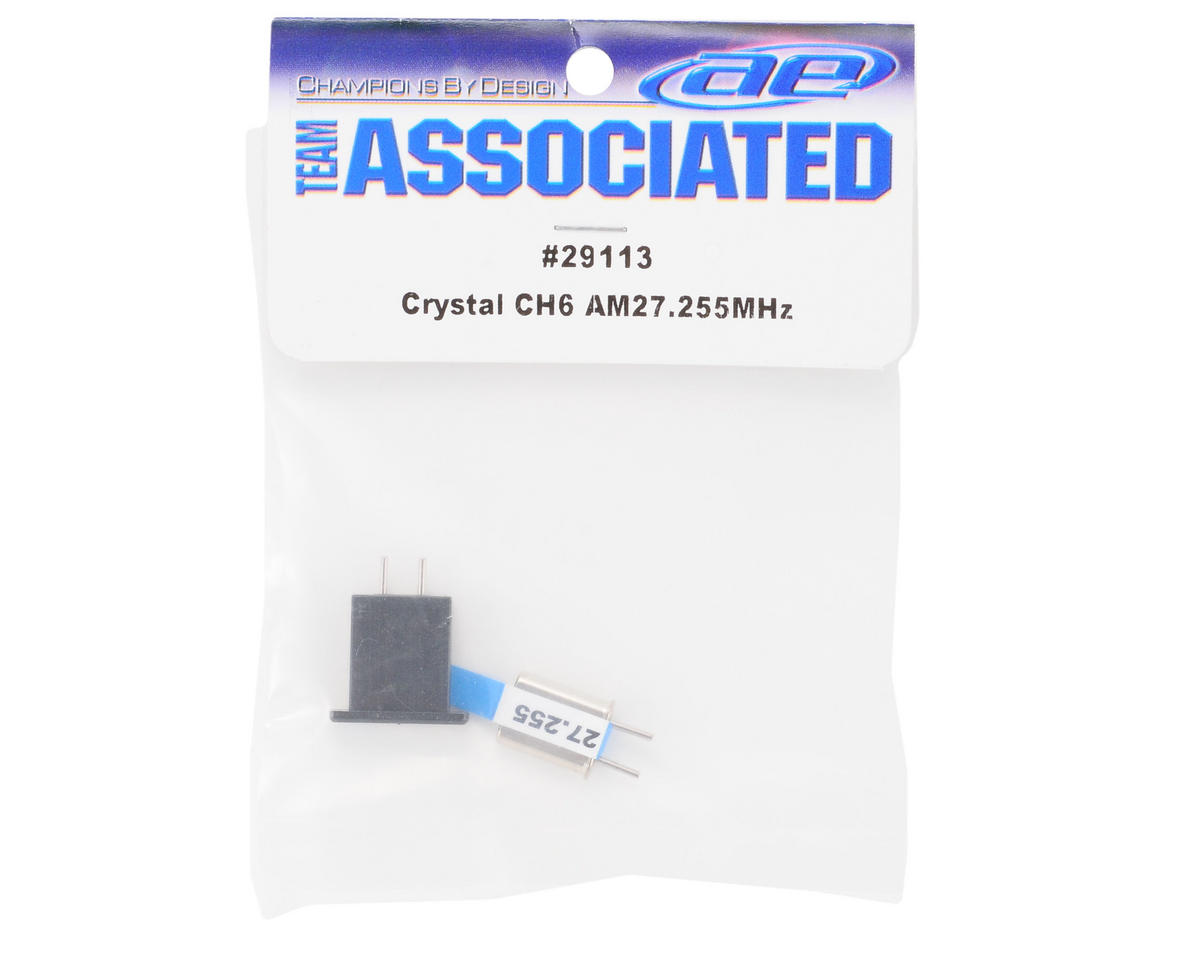 Team Associated Crystal Set (CH 6 Blue) (XP3)
