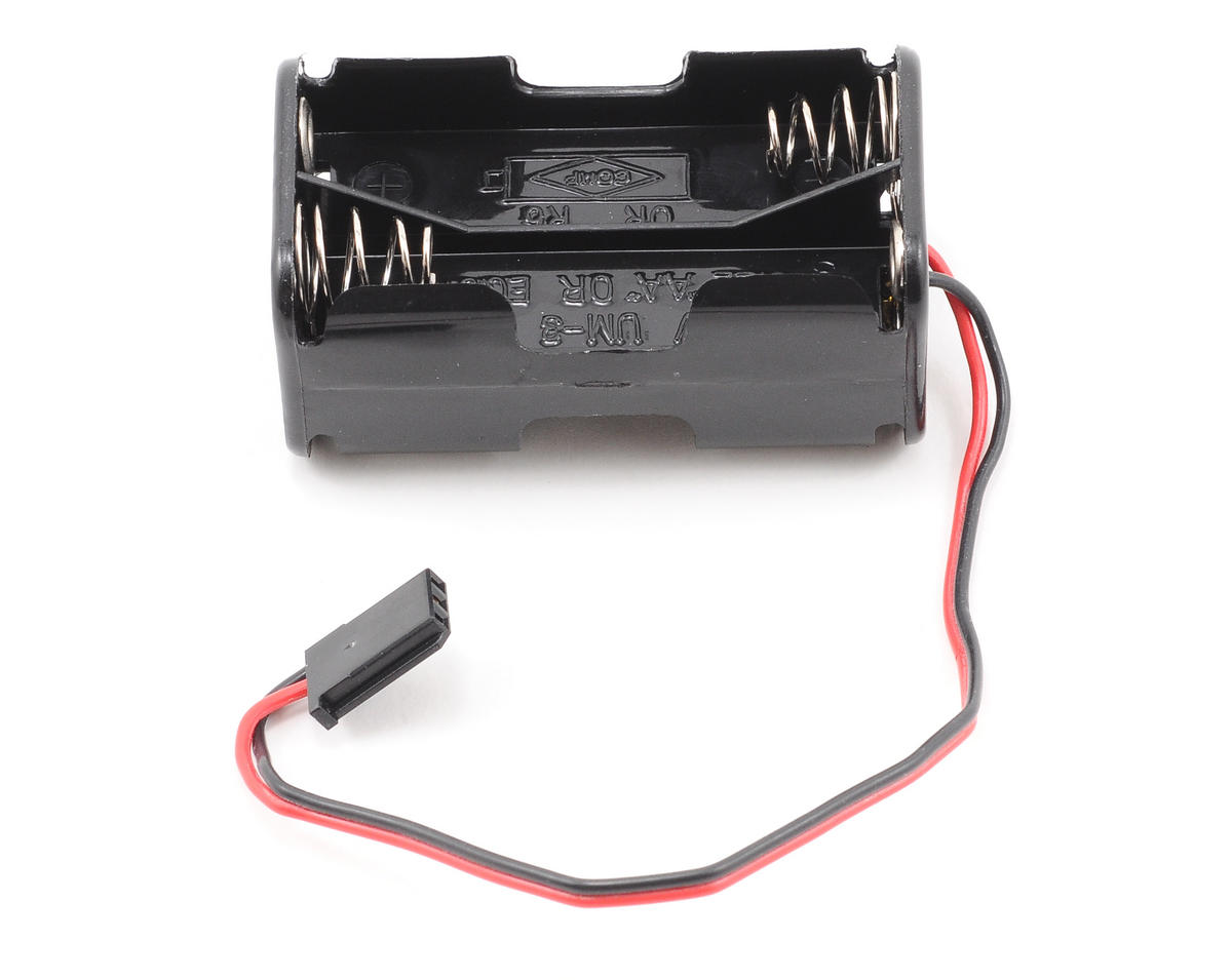 Team Associated RC18MT 4-Cell Battery Holder w/Futaba Connector