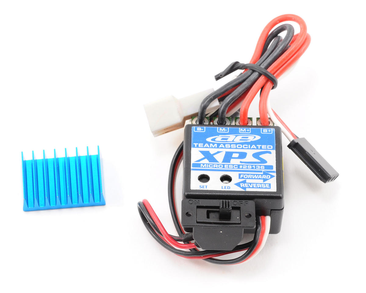 Team Associated RC18R Niteline XPS Micro ESC