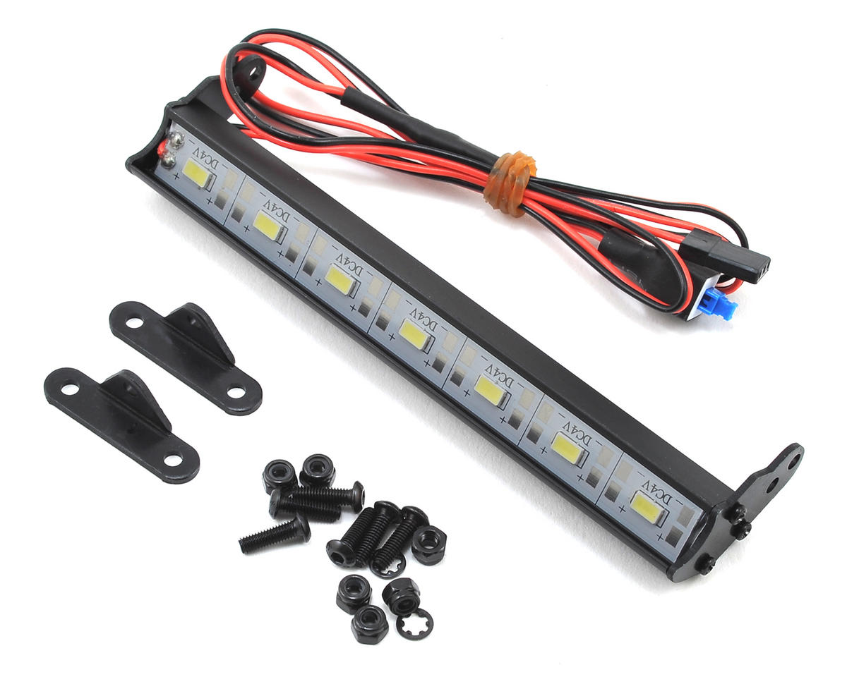 XP 7-LED Aluminum Light Bar Kit (120mm) by Team Associated