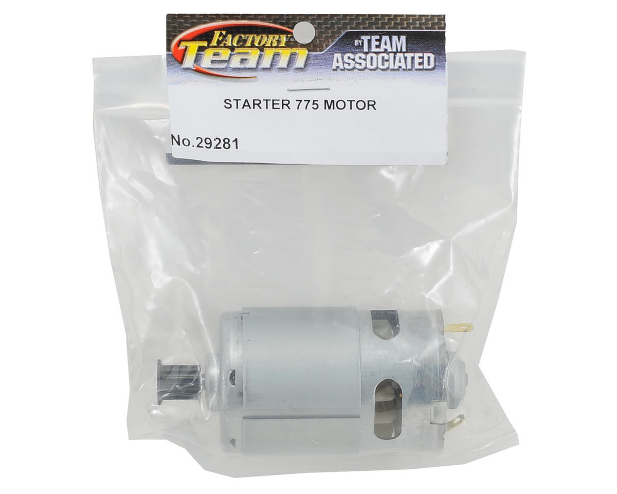 Team Associated Compact Starter Box 775 Motor