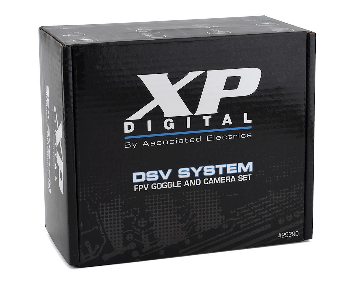 Team Associated XP Digital DSV FPV Camera & Goggle System