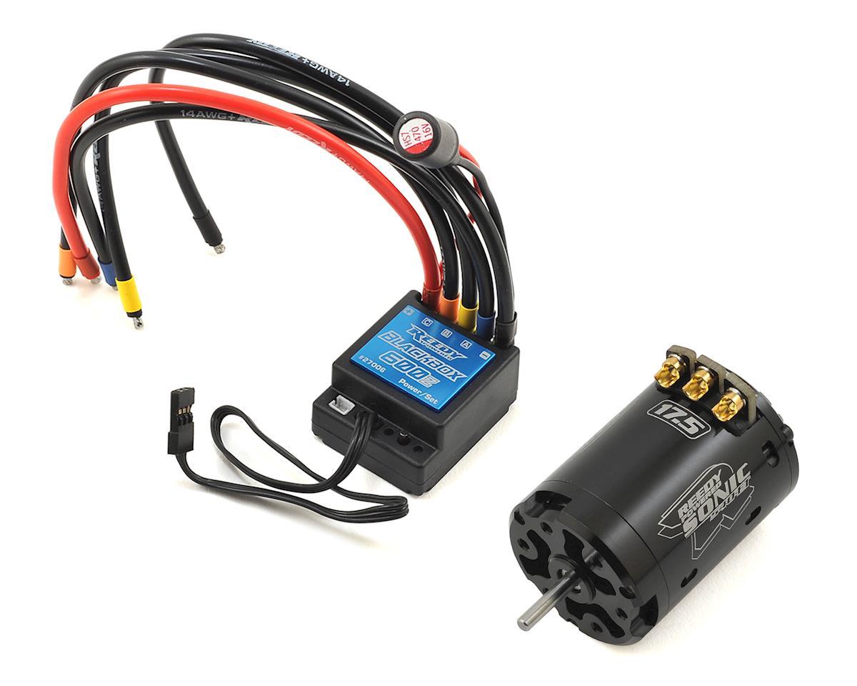 Reedy Blackbox 600Z ESC/Sonic 540-FT Brushless Combo (17.5T)