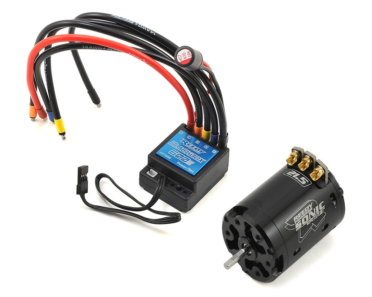 Reedy Blackbox 600Z ESC/Sonic 540-FT Brushless Combo (21.5T)
