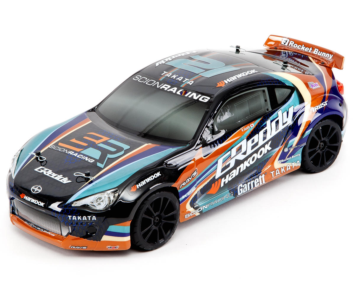 Team Associated Apex 4WD Touring RTR w/Scion Racing FR-S Rocket Bunny Body  & 2 4GHz