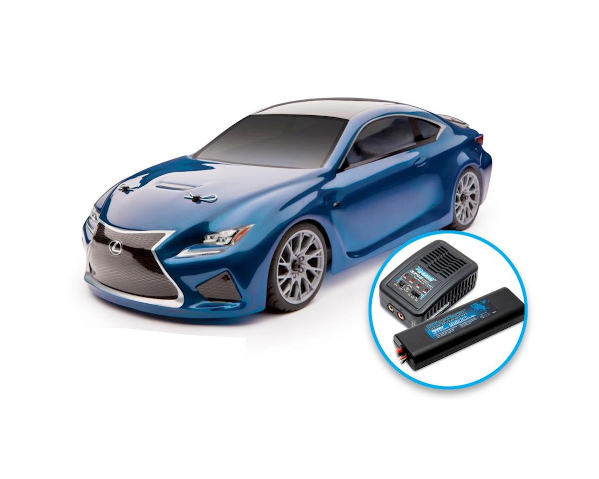 Team Associated APEX Lexus RC F Brushless RTR LiPo Combo Blue