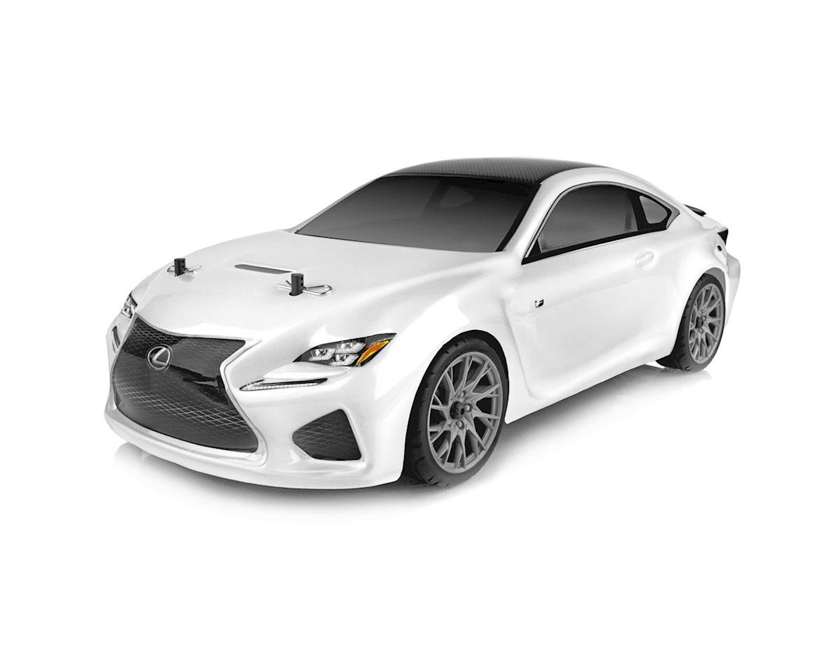 Team Associated APEX Lexus RC F Brushless Ready-To-Run White