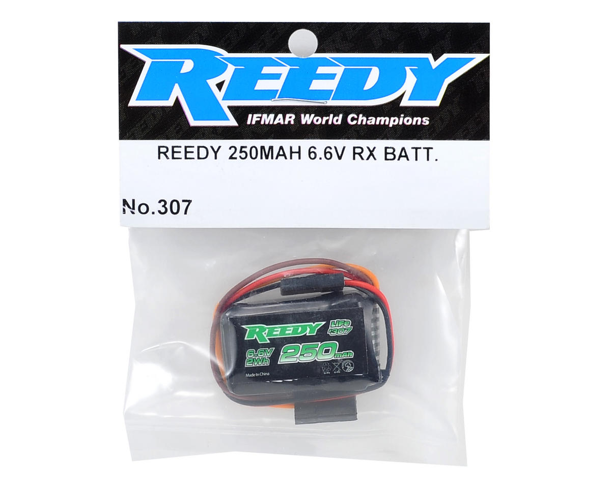 Image 2 for Reedy LiFe Receiver Battery Pack (6.6V/250mAh) (1/12 & 1/10 Pan)