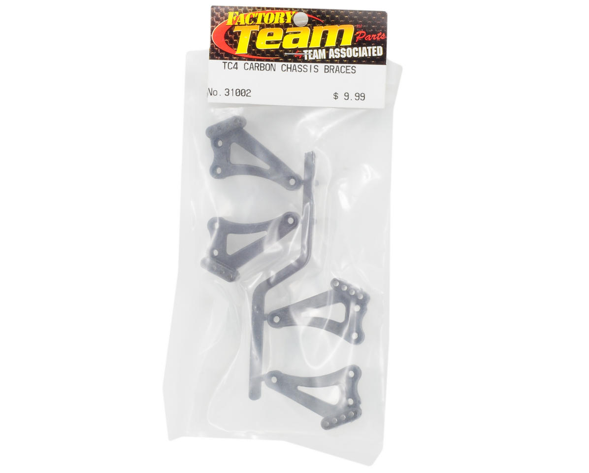 Team Associated Factory Team Carbon Chassis Braces