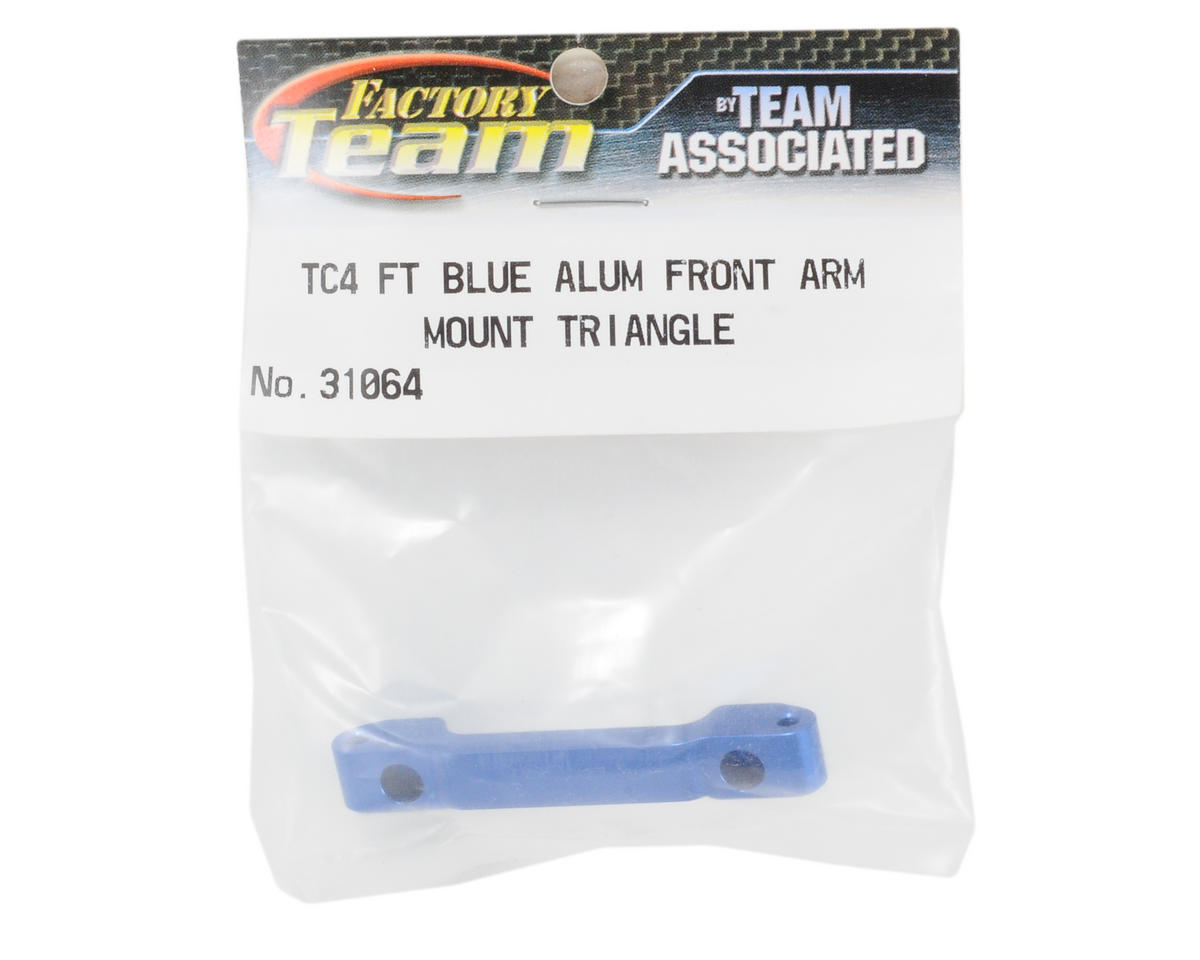Team Associated Factory Team Aluminum Front Arm Mount (Triangle)