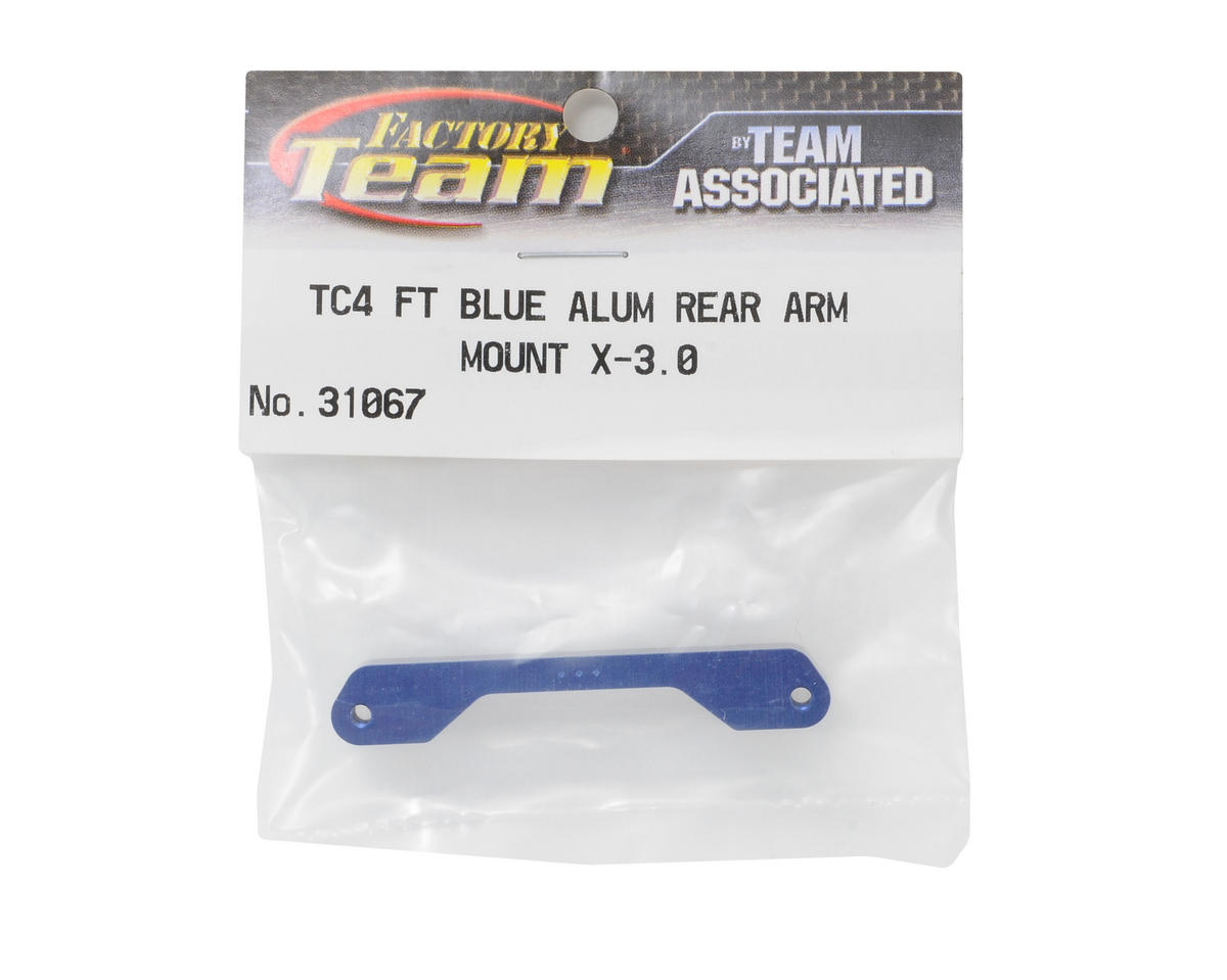 Team Associated Factory Team Rear Arm Mount (X-3.0°)