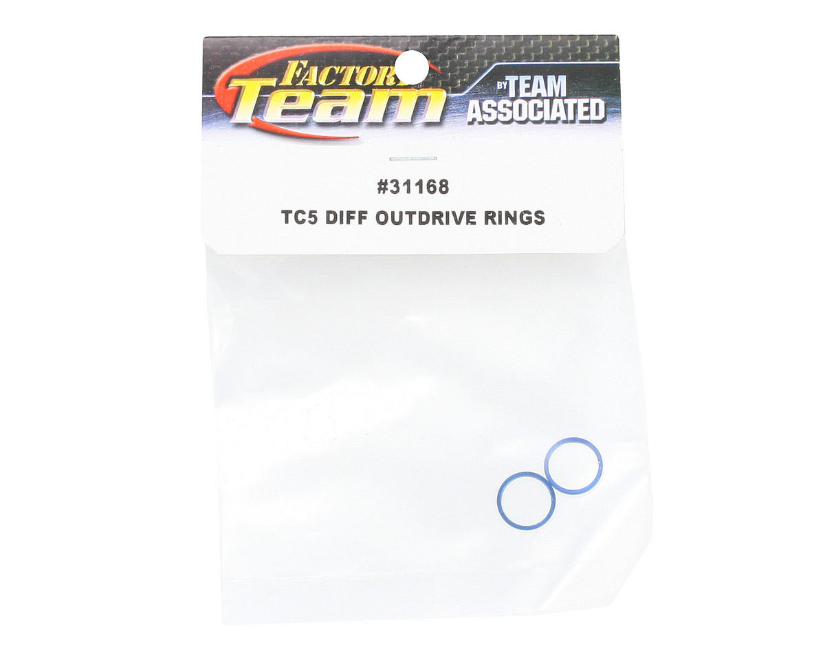 Team Associated Factory Team Differential Outdrive Ring Set (4)