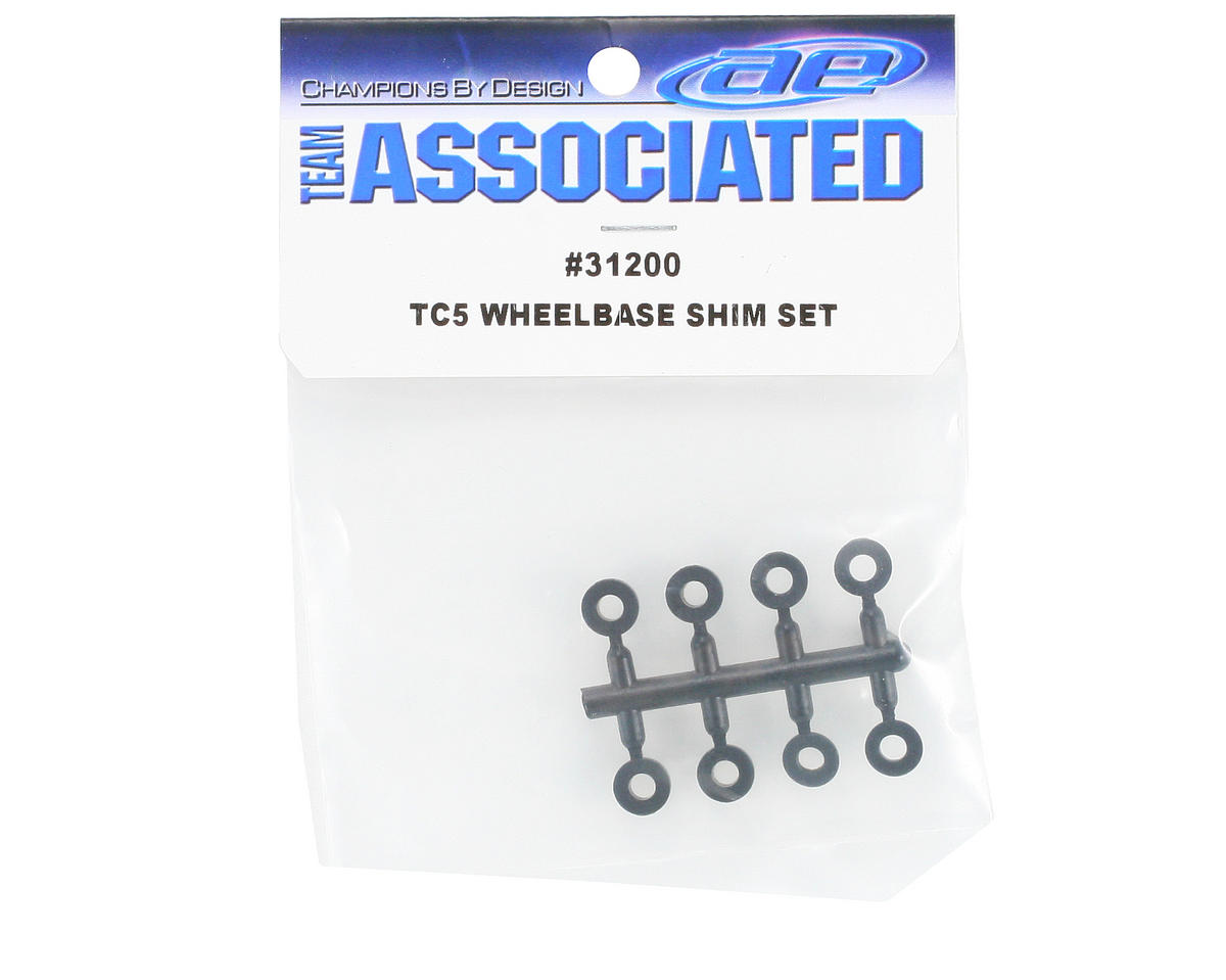 Team Associated Wheelbase Shim Set