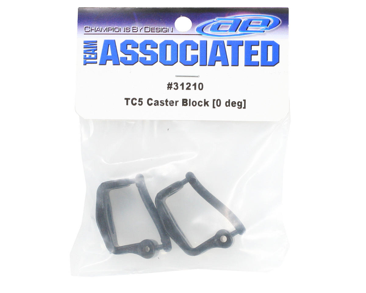 Team Associated Caster Block Set (0°)