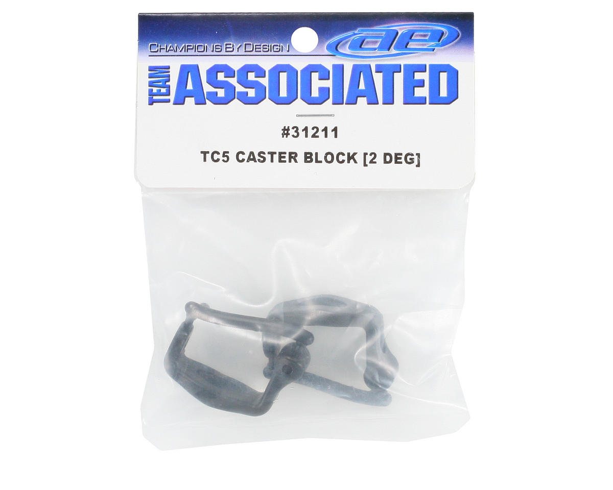 Team Associated Caster Block Set (2°)