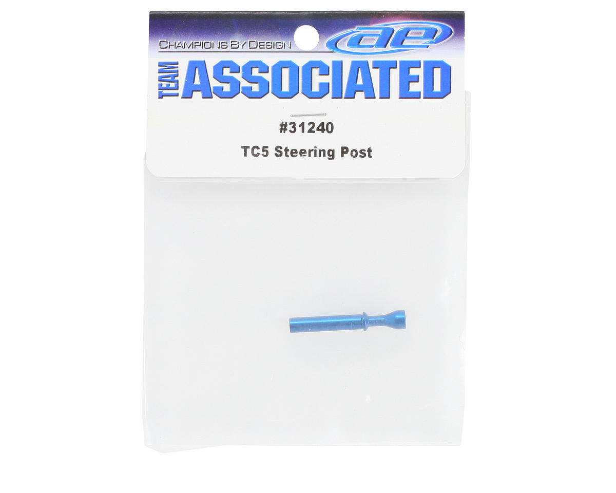 Team Associated Steering Post Spacer (Blue)