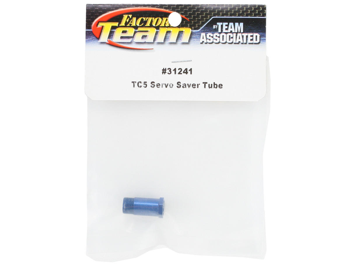 Team Associated Factory Team Servo Saver Tube (Blue)