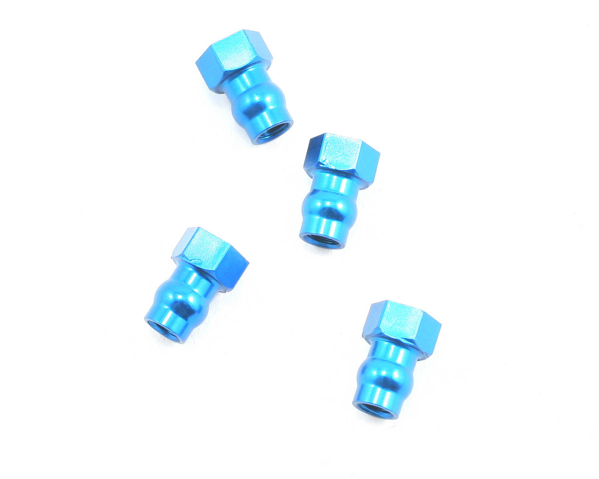 Factory Team Shock Bushing (Blue) (4) by Team Associated