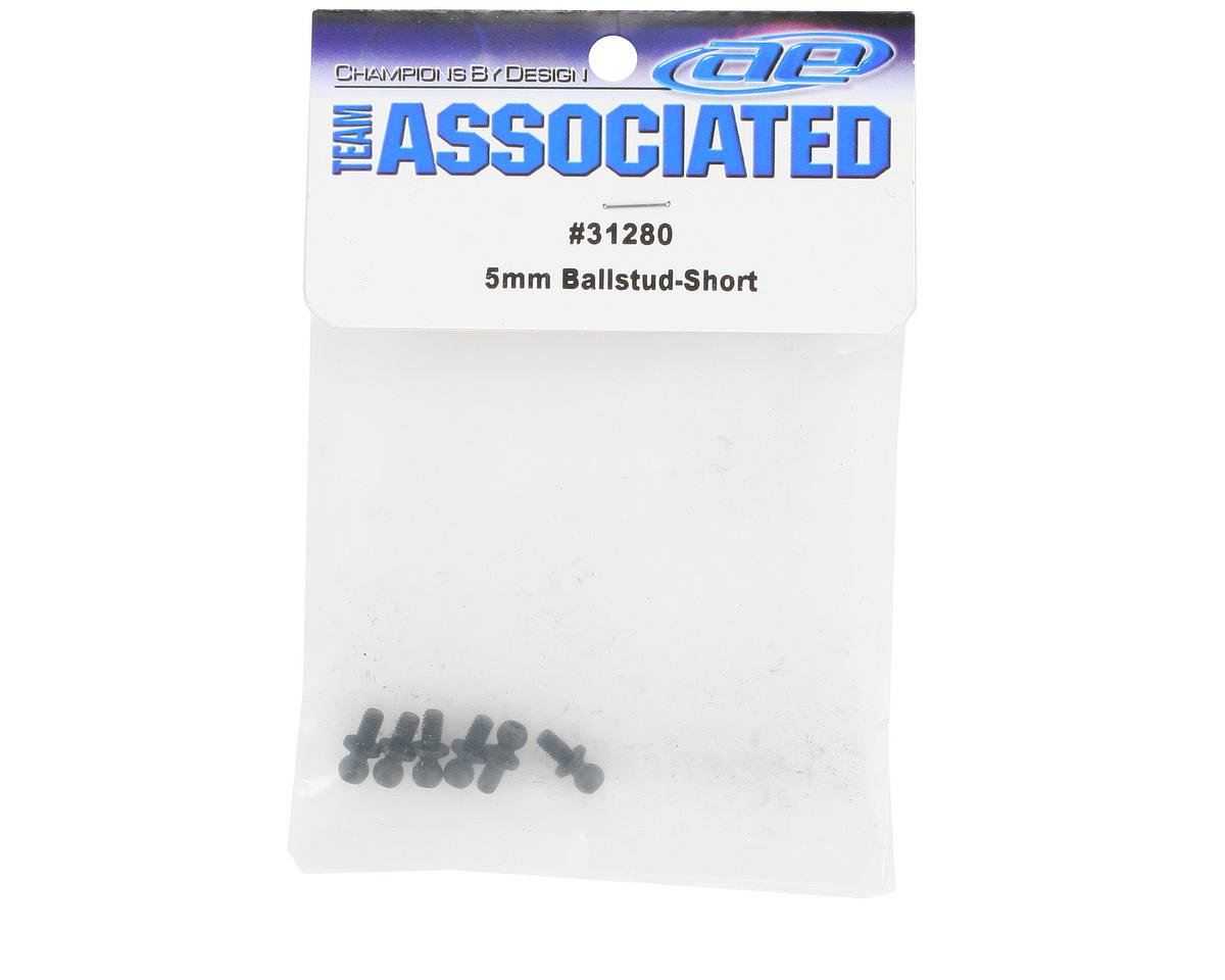 Team Associated 5mm Short Ball Stud (6)