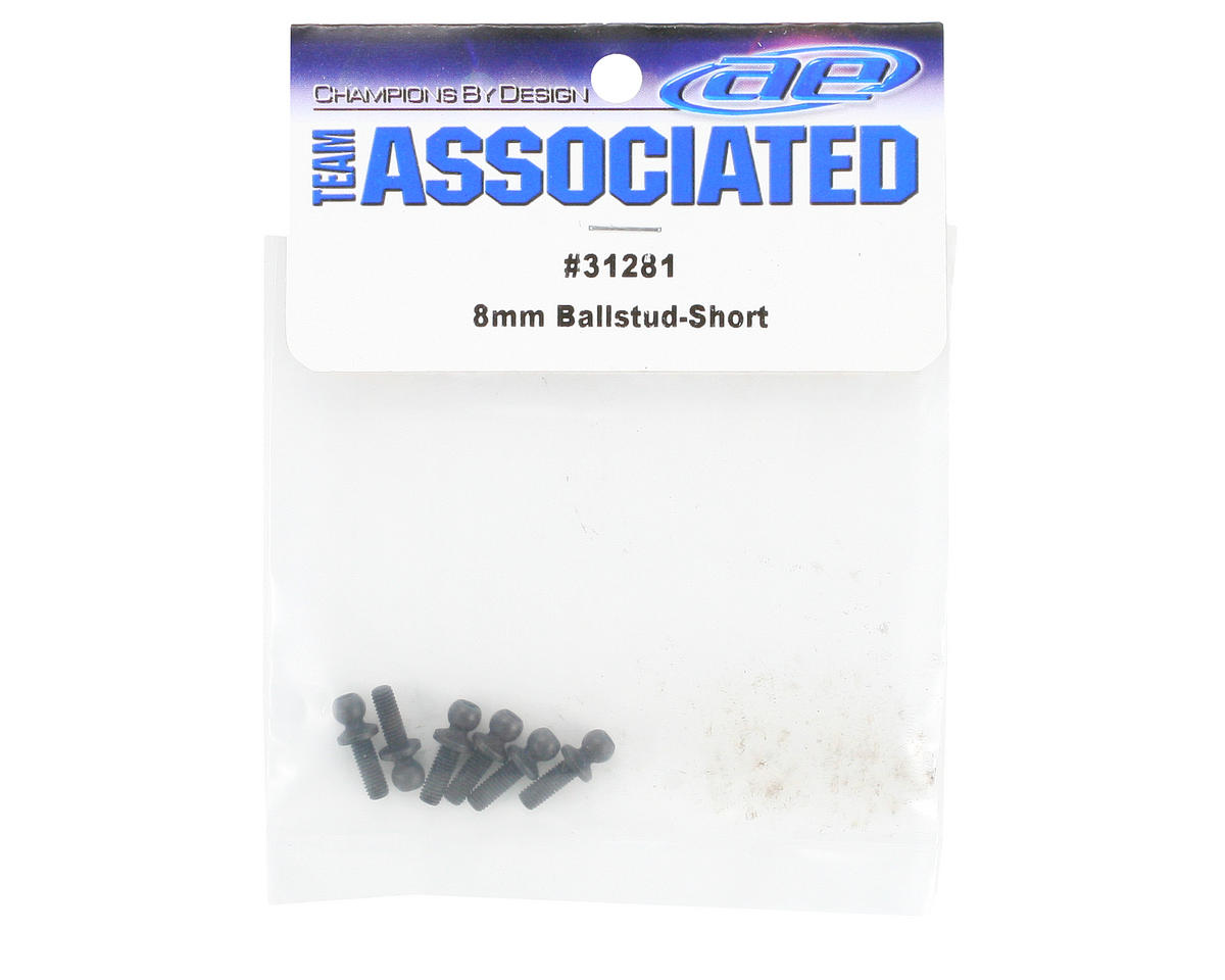 Team Associated 8mm Ballstud (6) (Short)