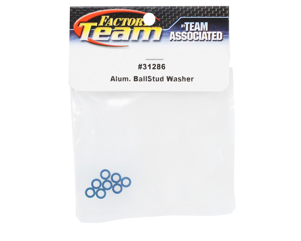 Team Associated Factory Team Aluminum Ballstud Washer (8)