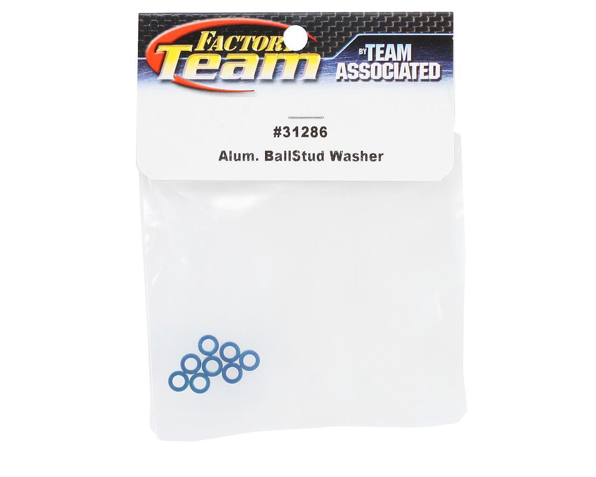 Factory Team Aluminum Ballstud Washer (8) by Team Associated