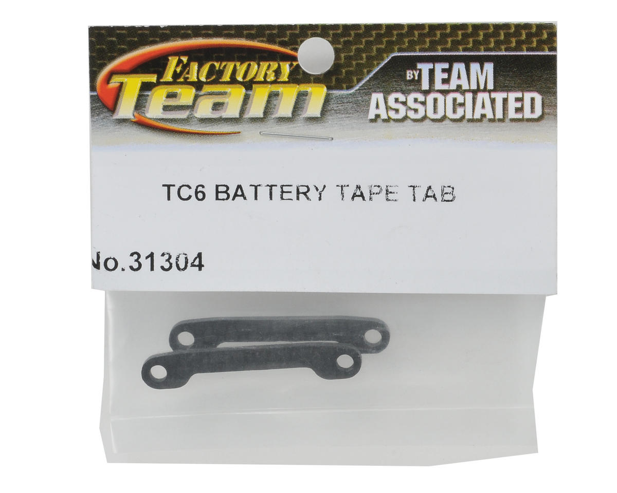 Team Associated Battery Tape Tab Set (2)