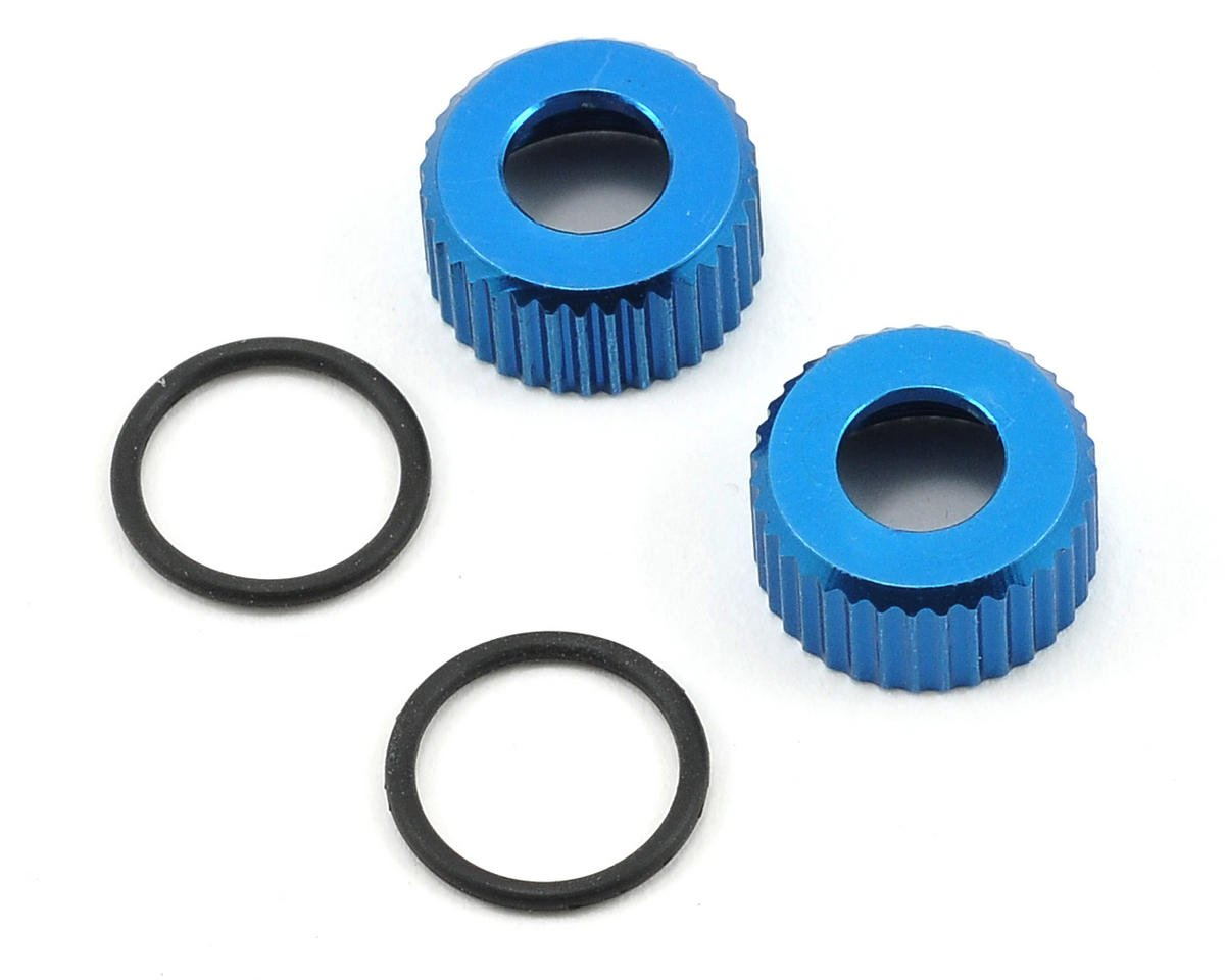 Team Associated RC10 T4.3 VCS3 Lower Shock Cap Set w/O-Rings (2)