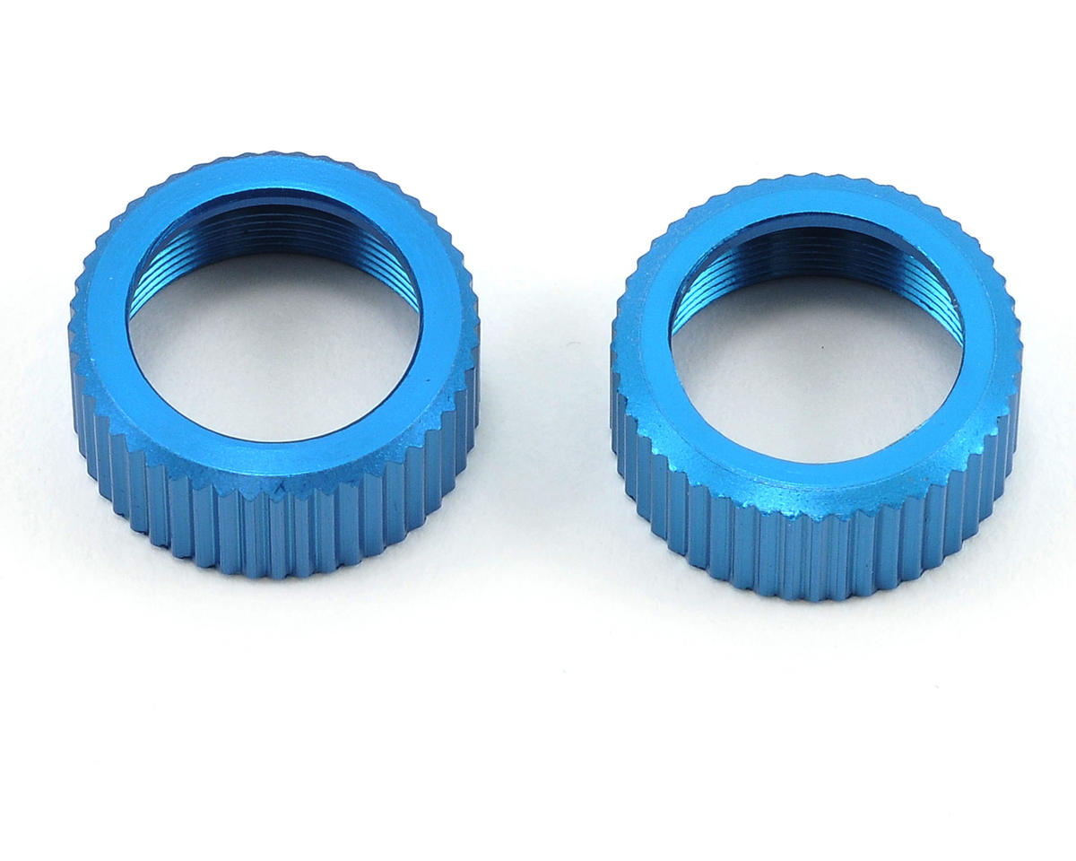 Team Associated Aluminum VCS3 Shock Cap Retainer Set (2)