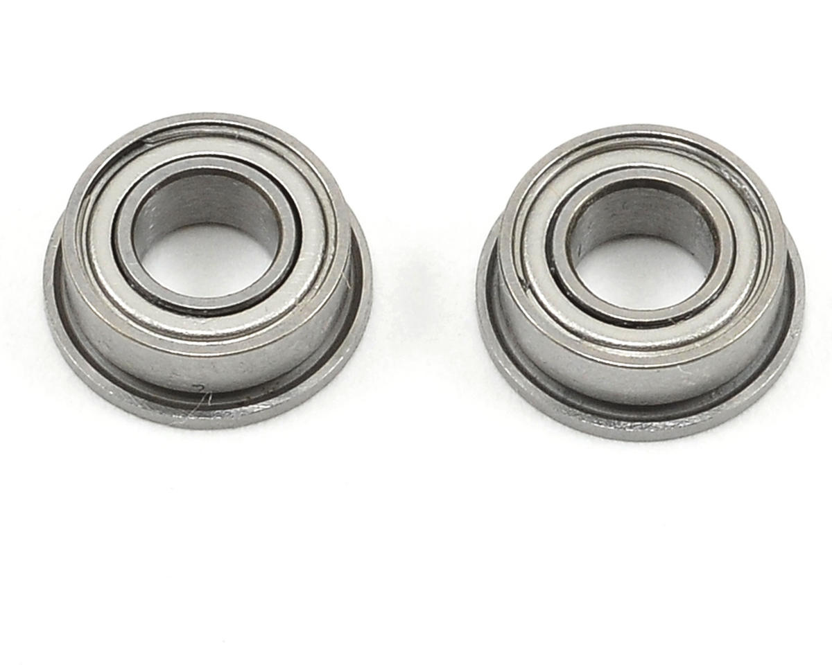 4x8x3mm Flanged Bearing Set (2) by Team Associated