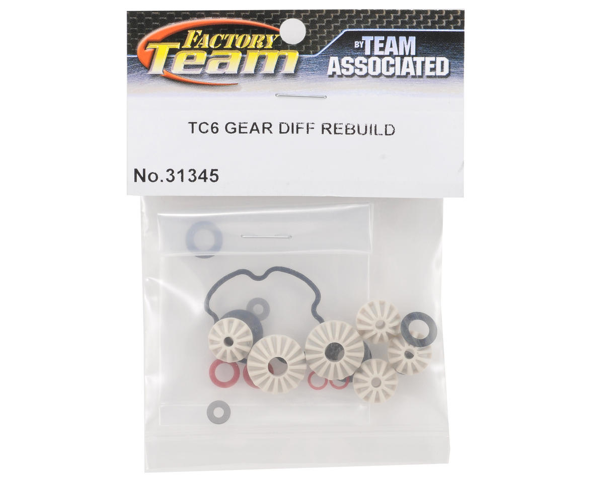 Team Associated TC6 Gear Differential Rebuild Kit