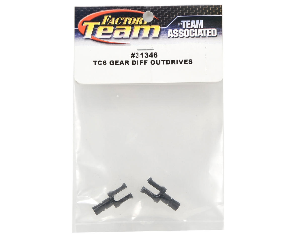 Team Associated Gear Differential Outdrive Set (2)