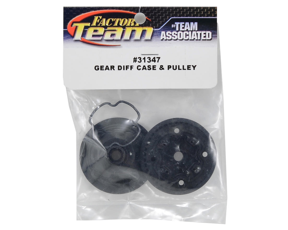 Team Associated Gear Differential Case & Pulley Set