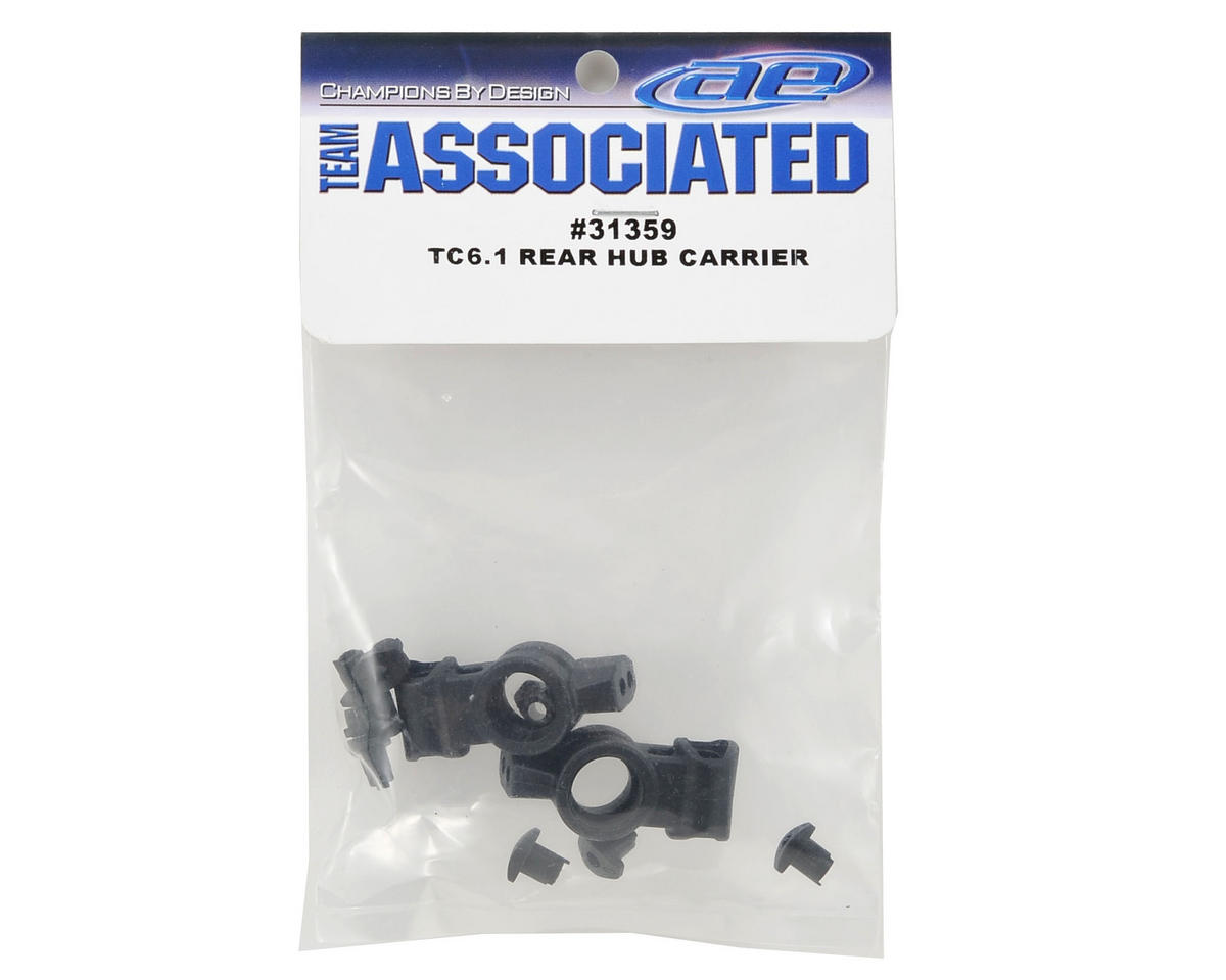 Team Associated Rear Hub Set
