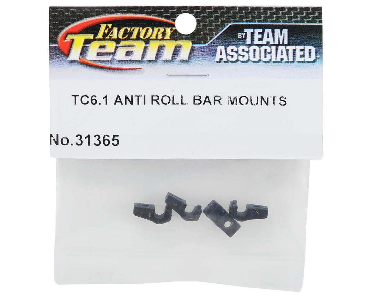 Anti-Roll Bar Mount Set (4) by Team Associated