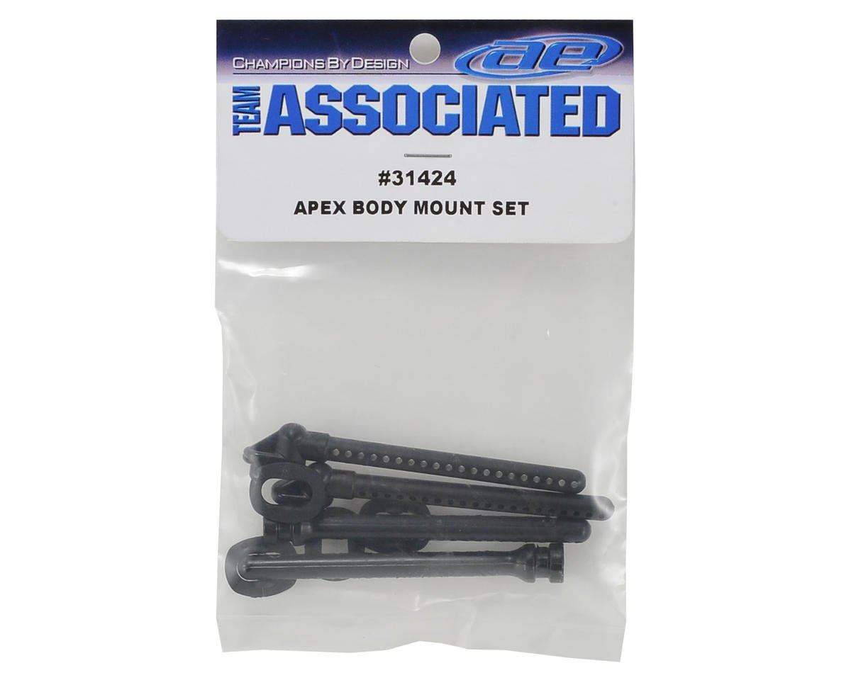 Team Associated APEX Body Mount Set