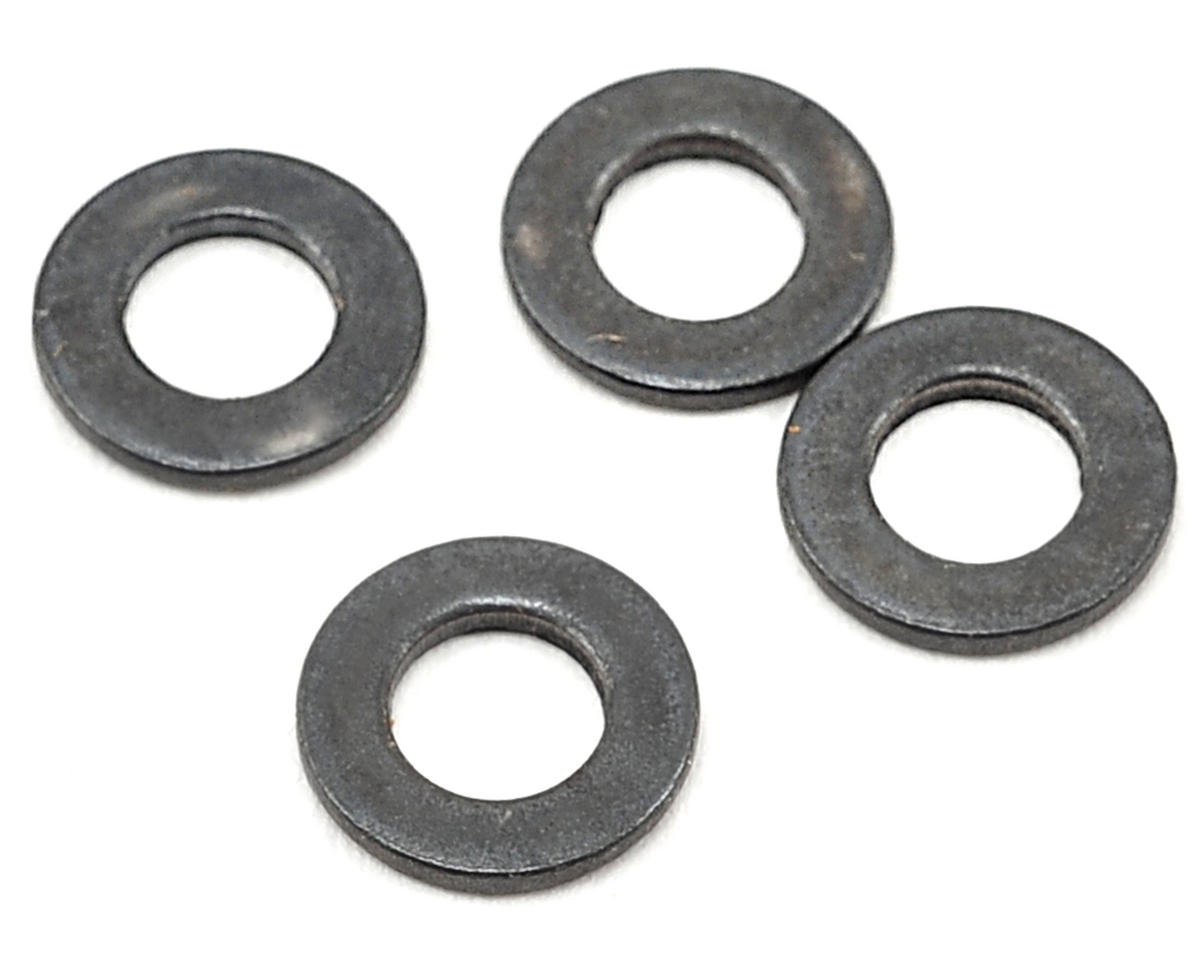 Team Associated 4mm Hex Drive Washer (4)