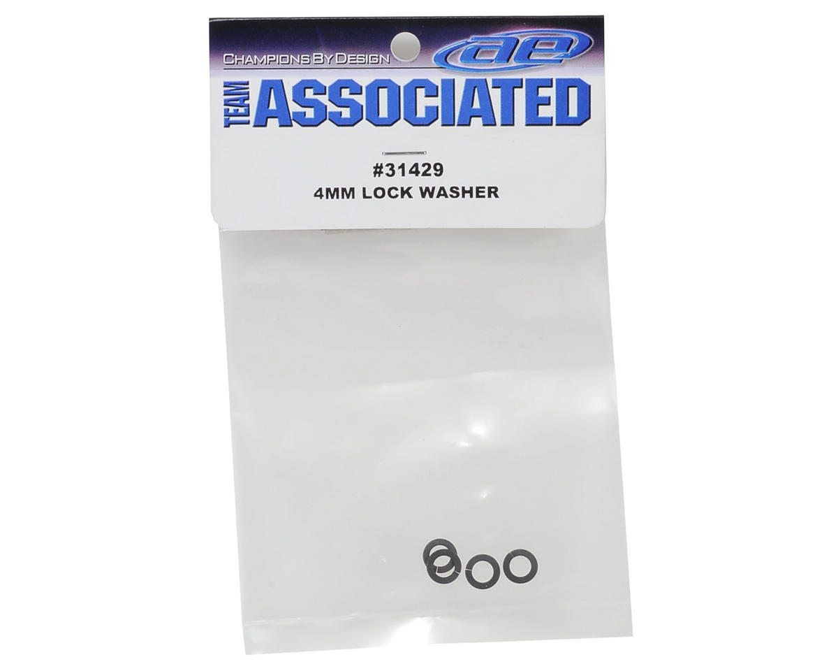 Team Associated 4mm Lock Washer (4)