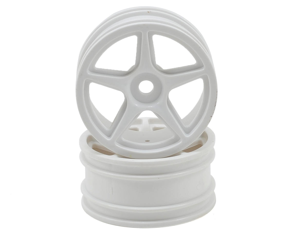 Team Associated 5-Spoke Wheel (White)