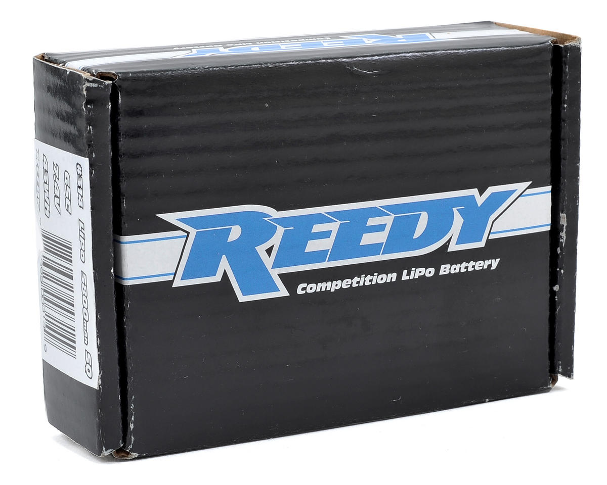 Reedy SQ 2S Hard Case Li-Poly Battery Pack 65C (7.4V/5800mAh)