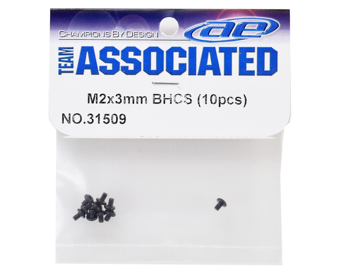 Team Associated 2x3mm Button Head Hex Screws (10)