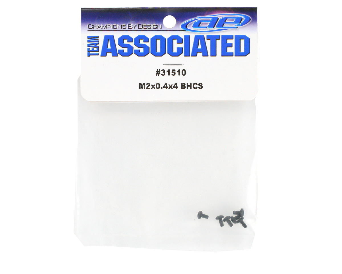 Team Associated 2x4mm Button Head Screw (6)