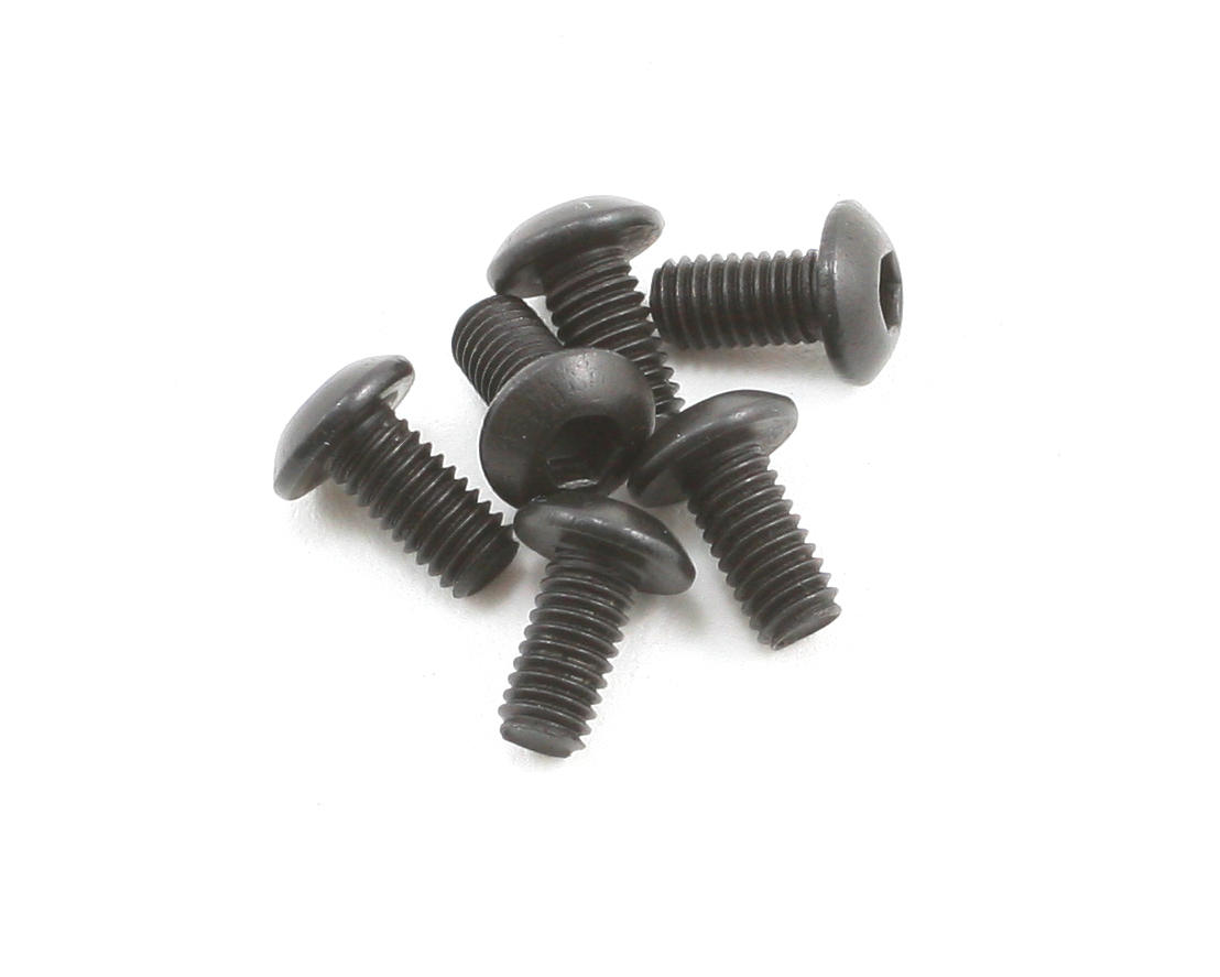 Team Associated RC10 R5 3x0.5x6mm Button Head Screw (6)