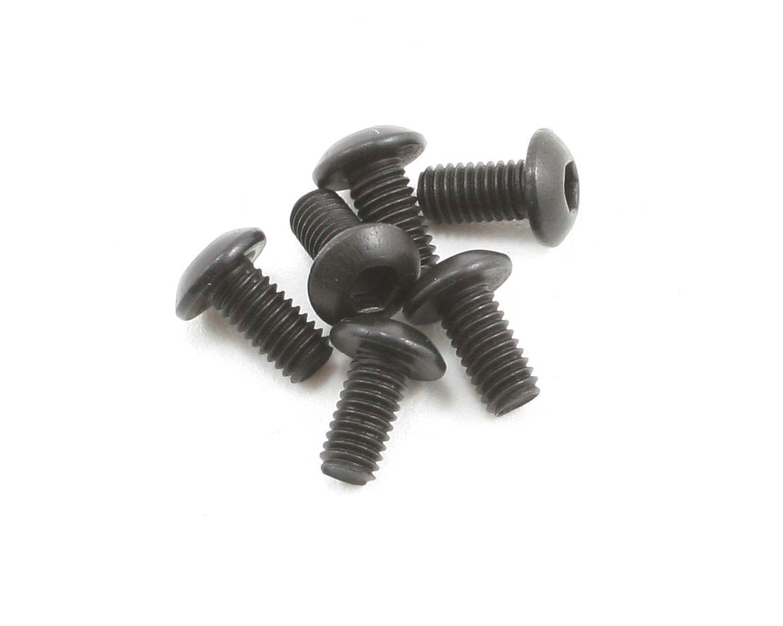 3x0.5x6mm Button Head Screw (6) by Team Associated
