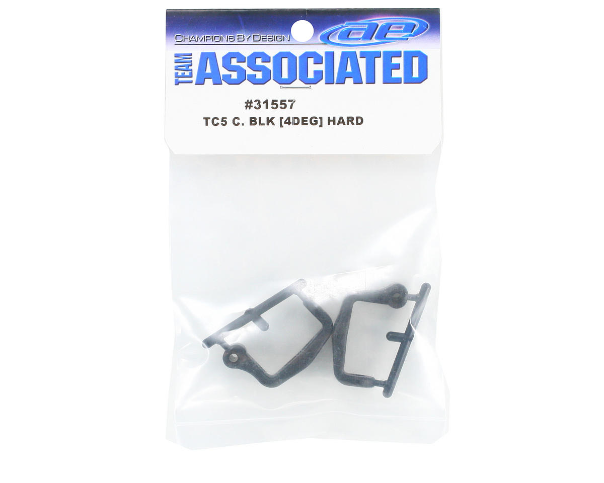 Team Associated 40° Caster Block Set (Hard)