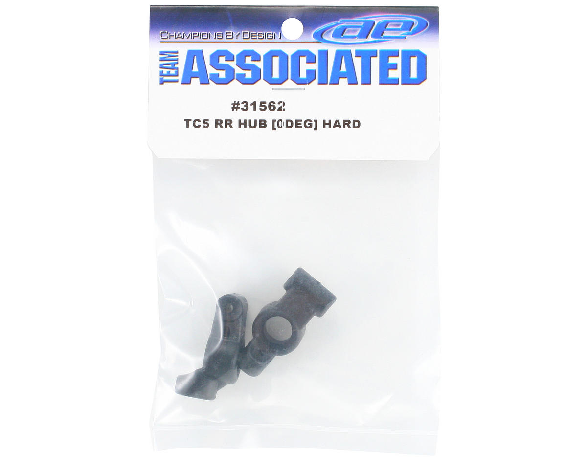 Team Associated 0° Rear Hub Set (Hard)